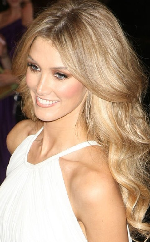 Some of the best Delta Goodrem hairstyles